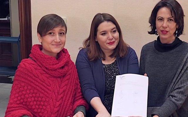 Unidos Podemos registra una proposición de ley sobre la eutanasia