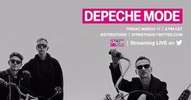 Depeche Mode retransmiten este viernes a través de Twitter un concierto en directo desde Berlín