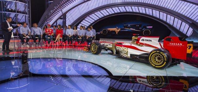 """Presentación del Nuevo Programa """"Formula Uno"""" de Movistar +  Alberto R. Roldan"""