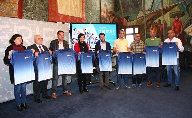 Nota De Prensa Y Fotografía: Iii Juegos Máster Cabildo Presentación
