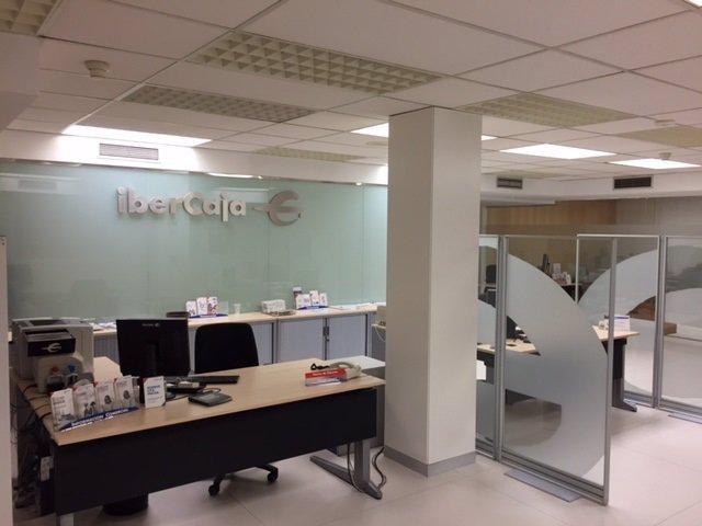 Nueva oficina de atención personalizada de Ibercaja en Teruel