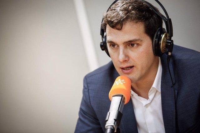 El líder de Ciudadanos, Albert Rivera, entrevistado en Canal Sur Radio
