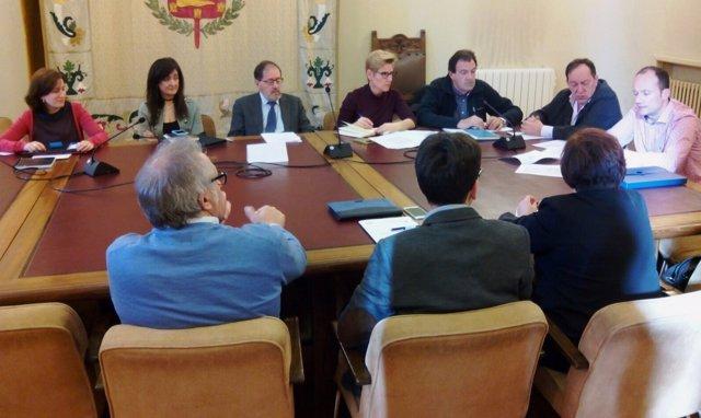 Reunión del Consejo de Administración de la empresa del agua