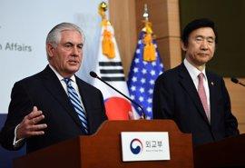 """EEUU advierte a Corea del Norte de que la """"paciencia"""" se ha acabado y no descarta acciones militares"""