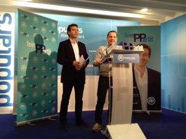 Company anuncia que Toni Fuster será el secretario general del PP balear si alcanza la Presidencia del partido