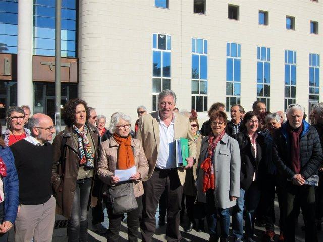 El Ayuntamiento de Pamplona presenta la querella contra crímenes del franquismo