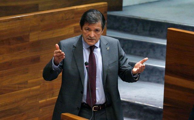 El presidente del Principado, Javier Fernández