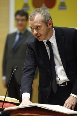 Toma de posesión del secretario de Estado de Energía, Daniel Navia