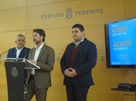 El Cabildo de Tenerife invierte 1 millón de euros en la séptima convocatoria del Plan de Empleo