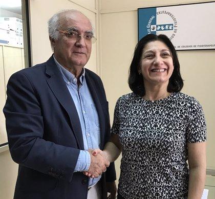 El CGCFE firma un acuerdo de colaboración con la Orden Francesa de Fisioterapeutas