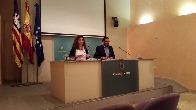Pilar Costa y Vicenç Vidal