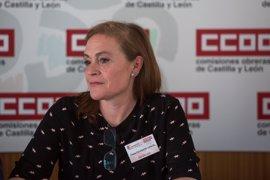 Elena Calderón García, nueva secretaria de la Federación de Enseñanza de CCOO de Castilla y León