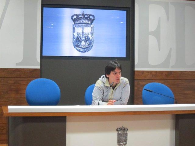El concejal de Urbanismo, Ignacio Fernández del Páramo