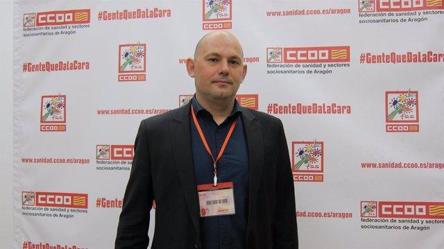 Juan Urdániz, de CC.OO.-Aragón