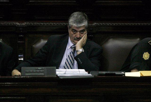 El ex ministro de Gobernación de Guatemala Carlos Vielmann