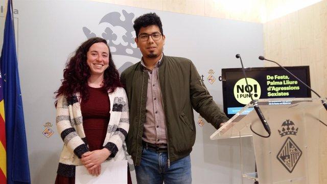 Aligi Molina y Lucía Segura presentan talleres prevención violencia machista