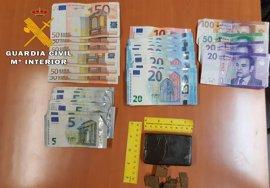 Detenidas dos personas que transportaban en un vehículo 109 gramos de hachís