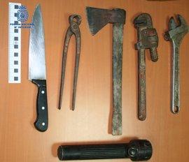 Detienen en Palma a un delincuente buscado por varios delitos tras una persecución