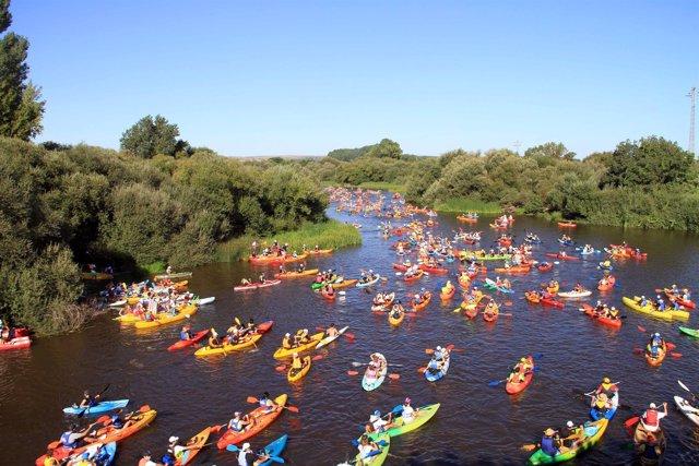 Descenso del río Alagón
