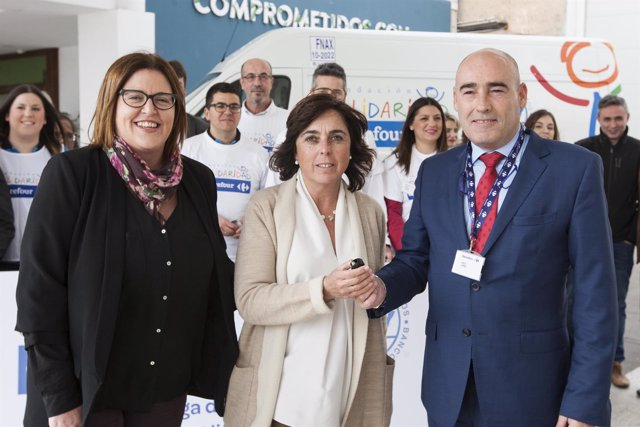 Fundación Solidaridad Correfour dona un vehículo al Banco de Alimentos de Cádiz