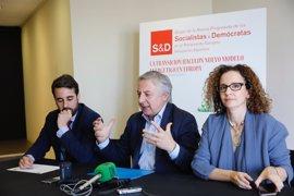 """José Blanco defiende que el PSOE no debe pelear por ser sólo """"el primero partido de la izquierda"""""""