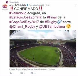Zorrilla de Valladolid volverá a acoger la final de la Copa del Rey de Rugby