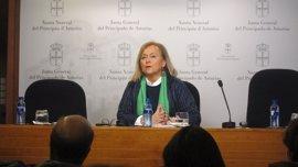 Mercedes Fernández (PP) niega que el pacto presupuestario haya sido una contraprestación