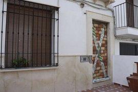Desalojada la vivienda ocupada ilegalmente en enero en Estepa (Sevilla)