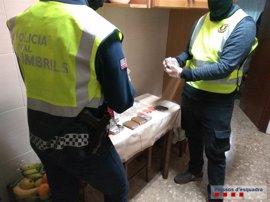 Detenido un grupo criminal dedicado al tráfico de drogas en Cambrils