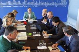 La Diputación de Málaga aprueba proyectos de obras por valor de 936.000 euros en siete municipios