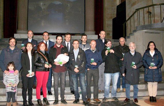 Entrega de premios del concurso 'Asturias Paraíso Natural'