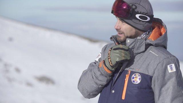 Israel Planas, entrenador de Snowboard cross de la RFEDI