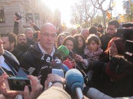"""Romeva dice que la UE también se juega su """"futuro y credibilidad"""" en Catalunya"""