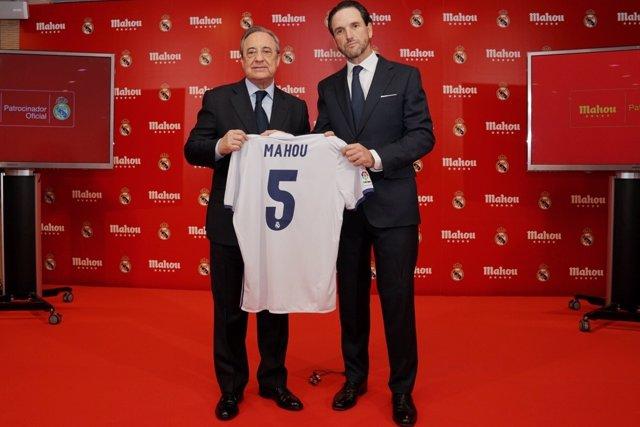 Florentino Pérez Mahou Cinco Estrellas Real Madrid acuerdo
