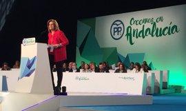 """Báñez destaca la """"unidad"""" del partido en el arranque del XV Congreso del PP andaluz"""
