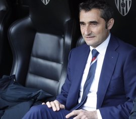 """Valverde: """"No podemos jugar de tú a tú, así no tenemos nada que hacer"""""""