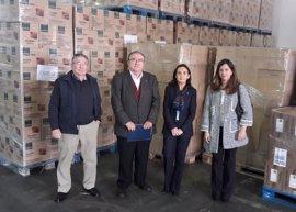El Gobierno distribuye en Huelva más de 745.600 kilos de alimentos entre 30.125 familias desfavorecidas