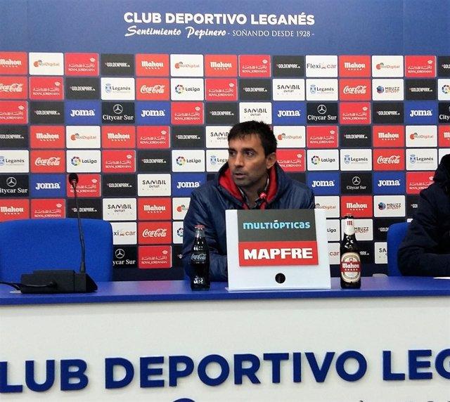 Asier Garitano, entrenador del C.D. Leganés
