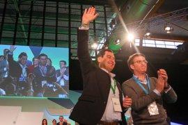 """Feijóo defiende en el congreso del PP andaluz que """"ninguna comunidad"""" puede ser """"un trampolín para aupar a nadie"""""""