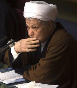El ex presidente iraní Akbar Hashemi Rafsanjani