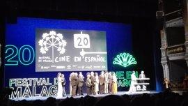 Fran Perea y Manuela Vellés alzan el telón de la 20 edición del Festival de Málaga