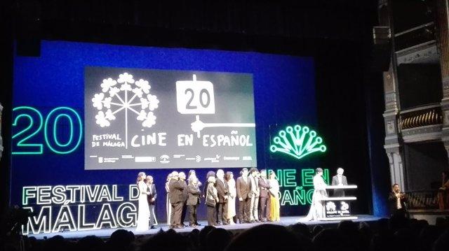 Gala inaugural del Festival de Málaga