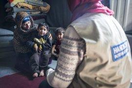 Los discapacitados por la guerra en Siria, necesitados de una ayuda que no siempre llega