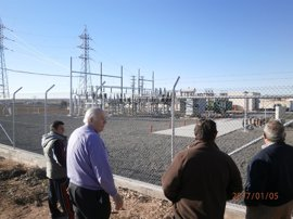 Afectados por la construcción de una subestación eléctrica en El Pedernoso presentan un recurso contra el Ayuntamiento