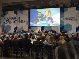 """Mallada destaca la """"responsabilidad"""" que ha demostrado el PP """"con Mercedes Fernández a la cabeza"""""""