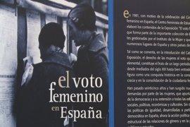 Una exposición en Olivenza hace un recorrido histórico sobre el voto femenino en España