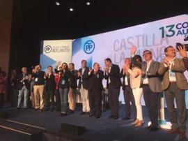 Arranca el Congreso del PP con la constitución de la Mesa, presidida por el alcalde de Cuenca