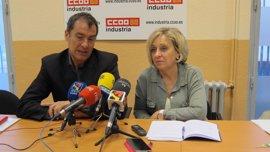 "CC.OO. se compromete a ""proteger el empleo"" de la industria auxiliar de Opel en Aragón"