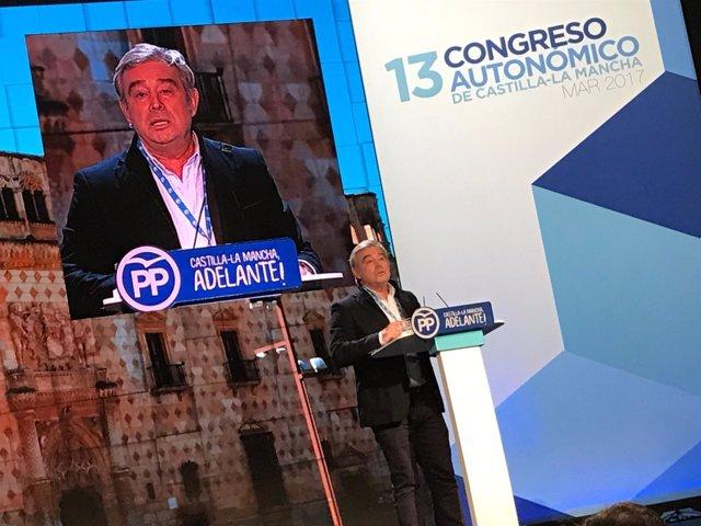 Barreiro en el congreso del PP