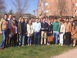 """Jóvenes del PP apoyan candidatura Cuca Gamarra porque """"representa el futuro del proyecto del PP de La Rioja"""""""